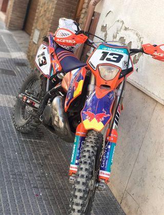 Ktm Exc 250cc 2t