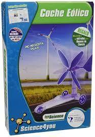 Nuevo. coche eolico science4you juguete cientifico