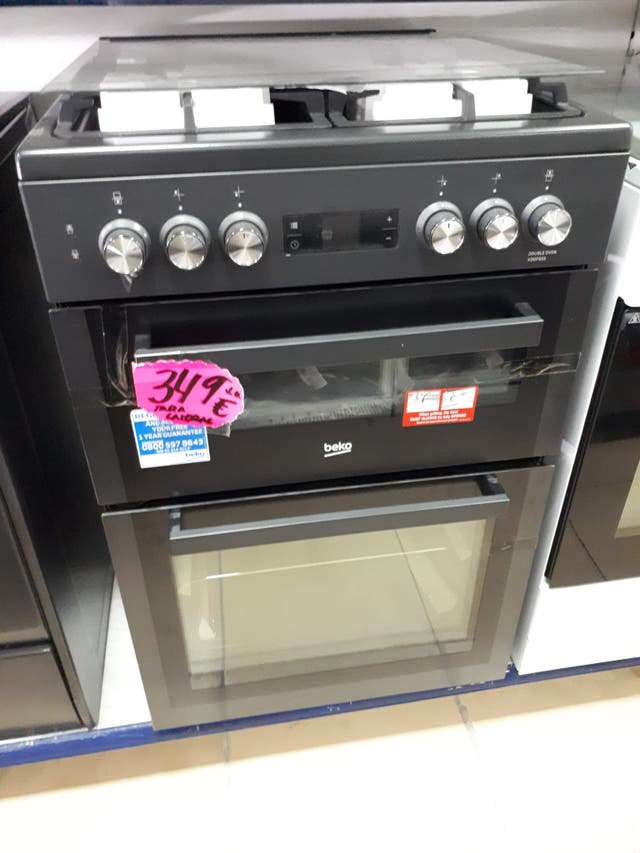 BEKO XDDF655T Cocina de doble horno de 60 cm