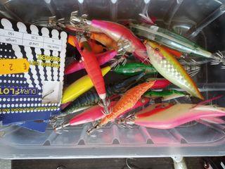 señuelos pesca spinning jigs