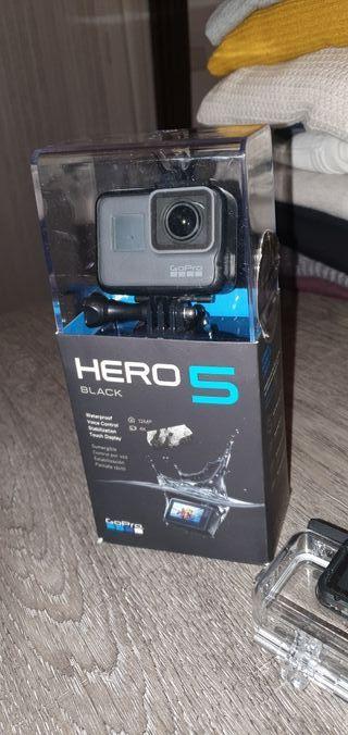 Hero 5 Black edition + accesorios