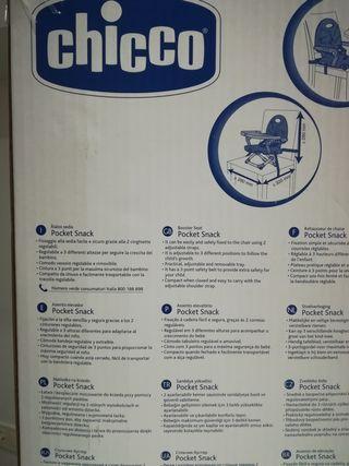 Asiento elevador CHICCO POCKETSNACK trona portátil