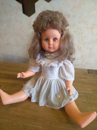 antigua muñeca francesa parlante