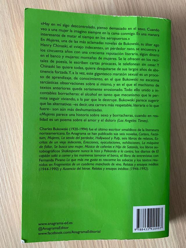 Libro charles bukowski Mujeres