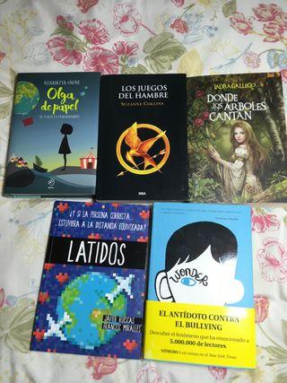 Variedad de libros ( mirar info)
