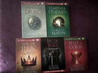 libros de juego de tronos en catalán