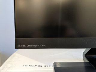 "Monitor Benq 1080 full HD 24"""