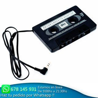 Adaptador para radio cassette cintas de audio