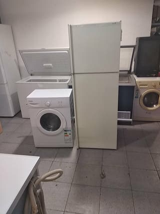lote de nevera y lavadora
