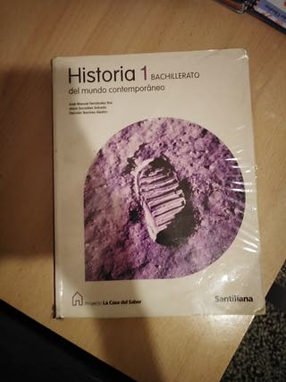 Libro de Historia del mundo contemporáneo 1 bach