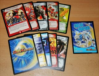 10 cartas Duel Masters Trading Card Game