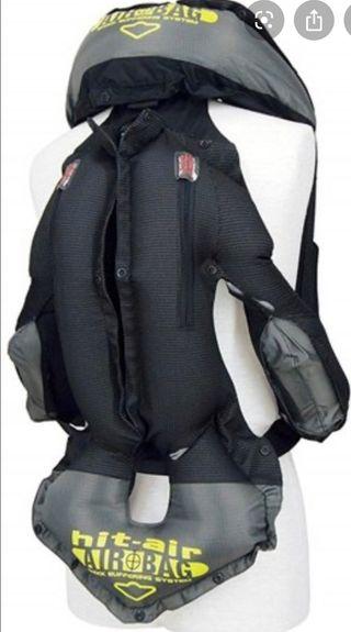 Chaleco air bag moto