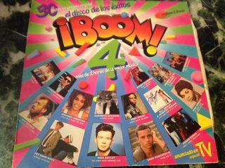 "Vinilo LP ¡BOOM"" 4. 1988"