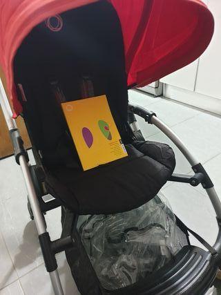 Bugaboo Bee + saco bebé + bolsa cambiador