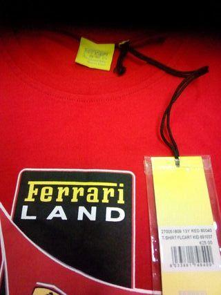 camiseta Ferrari hombre