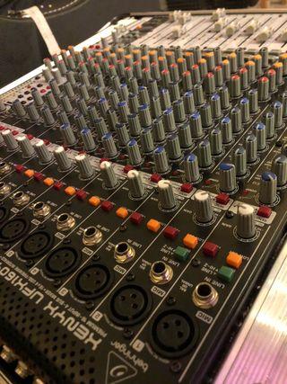 Behringer UFX1604 - graba en multipistas