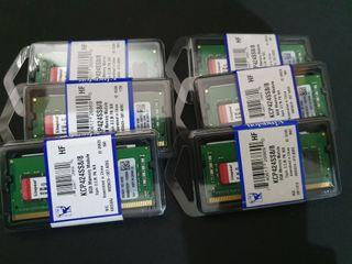 RAM ddr4 (6 módulos de 8gb)