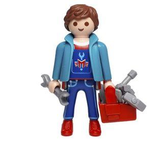 Playmobil Mecánico con herramientas