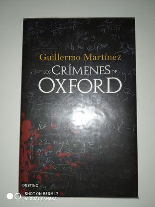 Libro 'Los crímenes de Oxford'