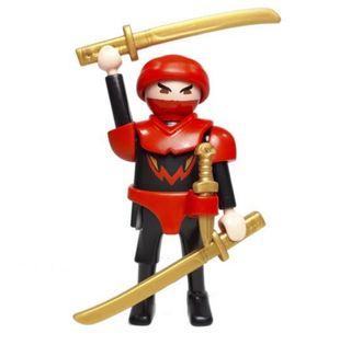 Playmobil Ninja con katanas