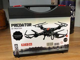 dron a estrenar predador by prixtron con cámara hd
