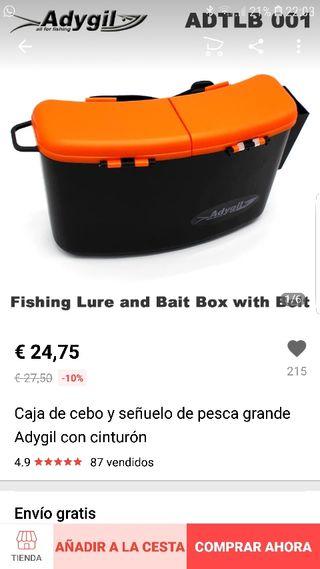Caja para señuelos
