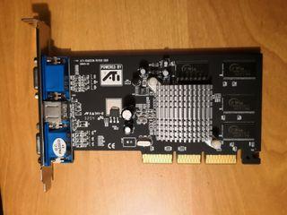 Tarjeta Gráfica ATI Radeon RV100 DDR.