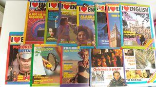 Lote 12 revistas I LOVE ENGLISH 90-91