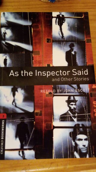 As the inspector said and other stories. Libro+CD