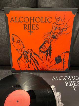 ALCOHOLIC RITES Alkomanifesto LP Black Metal