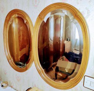 Espejo de dormitorio o recibidor