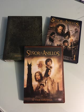 DVD Trilogía El Señor de los Anillos - version ext