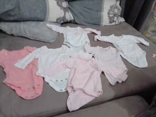 lote 6 bodys bebé o bebé rebor