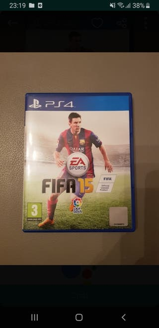 juego PS4 fifa 15