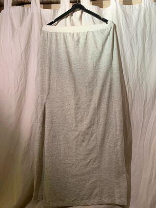 Falda de algodón