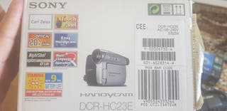 VideoCámara Sony Handycam sin uso