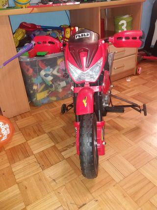 moto de juguete electrónica
