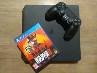PS4 1TB con Red Dead Redemption