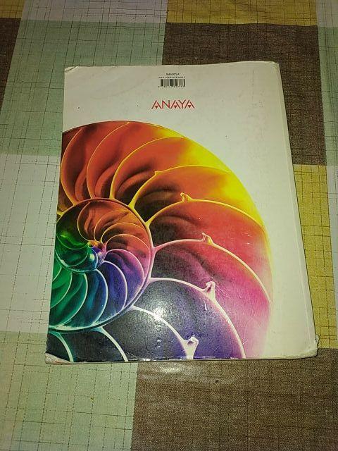 libro bachillerato Anaya MATEMATICAS