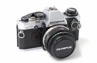 Cámara de fotos analógica Olympus Om10