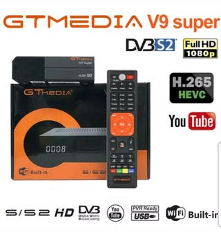 Receptor satélite GT MEDIA V9 SUPER A ESTRENAR