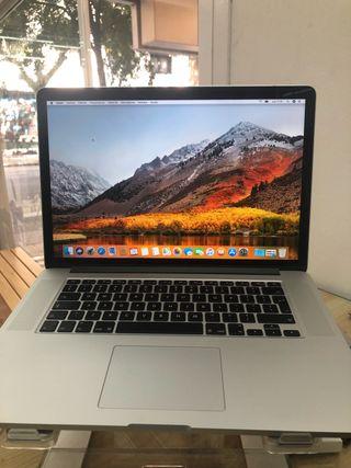 "MacBook Pro 15"" i7 2,2Ghz 2015 512SSD"
