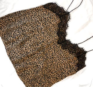 Top de leopardo BSK