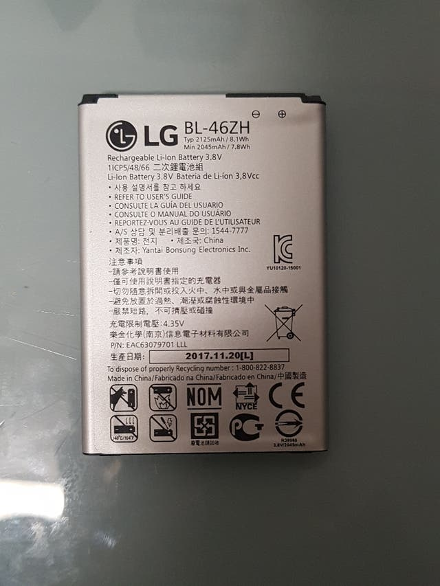 Pack LG cargador+bateria+auriculares