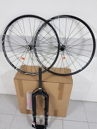 horquilla rs1 y ruedas xr1501