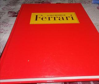 libro la gran historia de Ferrari 192pg. tapa dura
