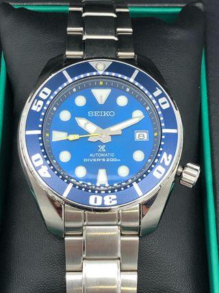 Seiko Sumó Blue Coral