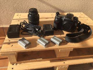 Camara Réflex Nikon D300s y objetivo 24-120 Nikon