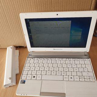 Mini portátil 10 pulgadas light SSD 4 núcleos.