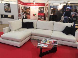 Sofa visco con chaiselong seminuevo